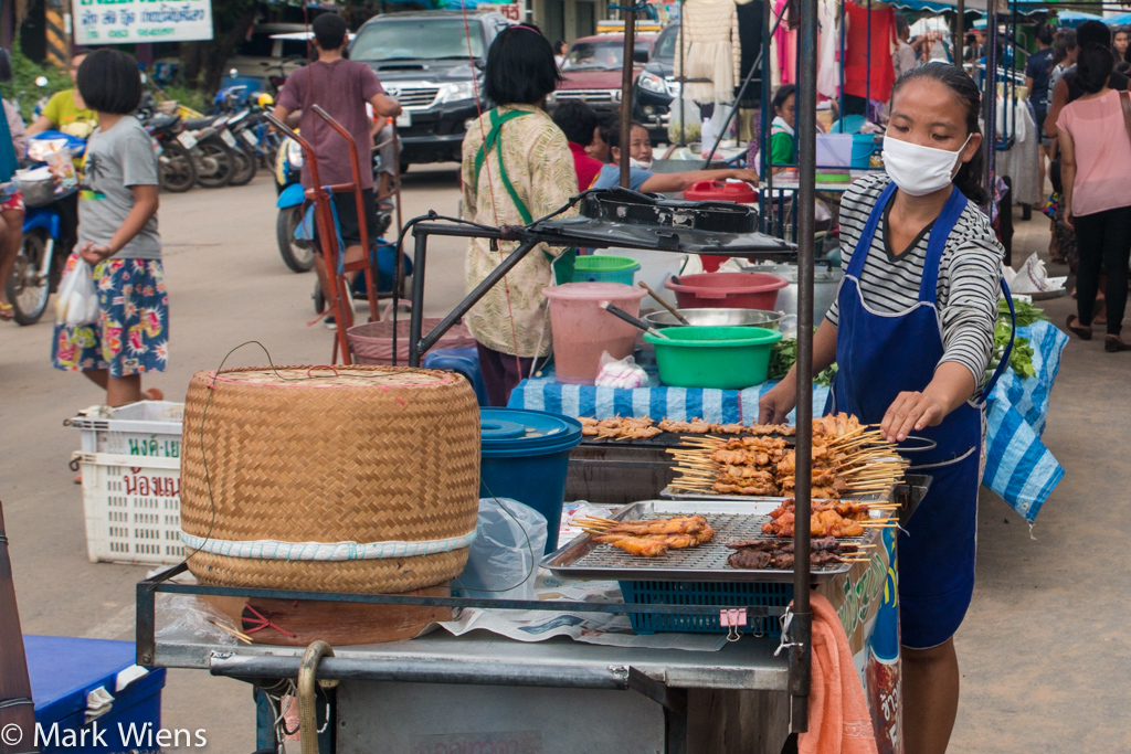 Isan food in Thailand
