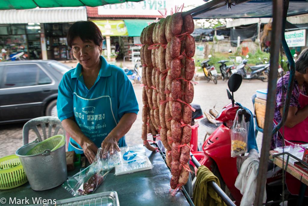 Isan sausages