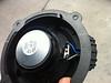 Rear of factory speaker