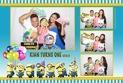 Kian Turns 1 (Fusion Photo Booth)