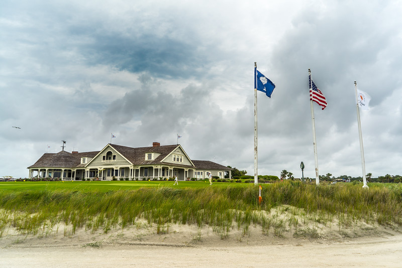 Ocean Course Clubhouse from the Beach