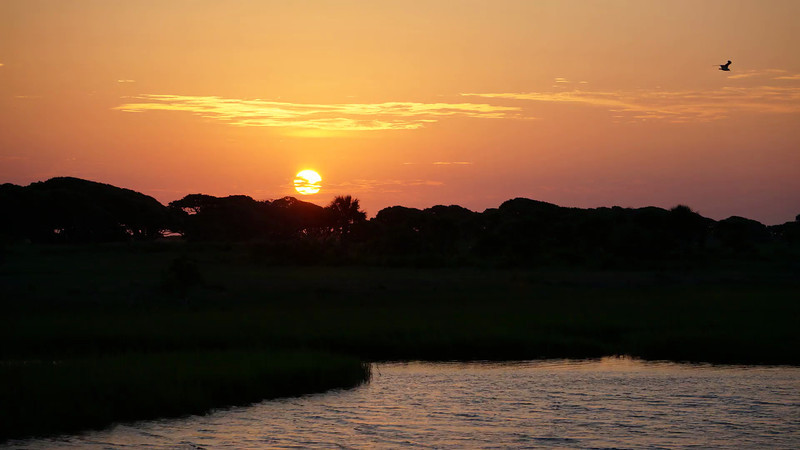 Sunrise at the Ocean Course