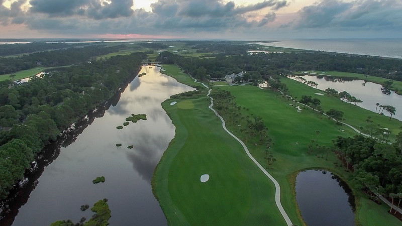 Aerial View of Osprey Point Golf Course East View