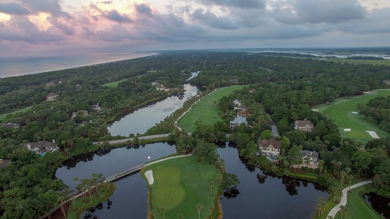 Aerial View of Osprey Point Golf Course West View