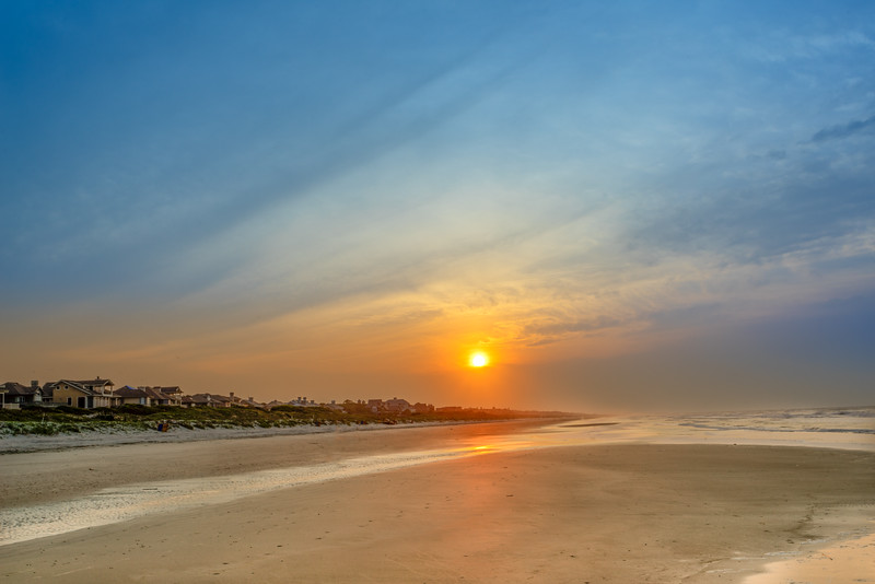 Sunrise on the Beach on Kiawah Island