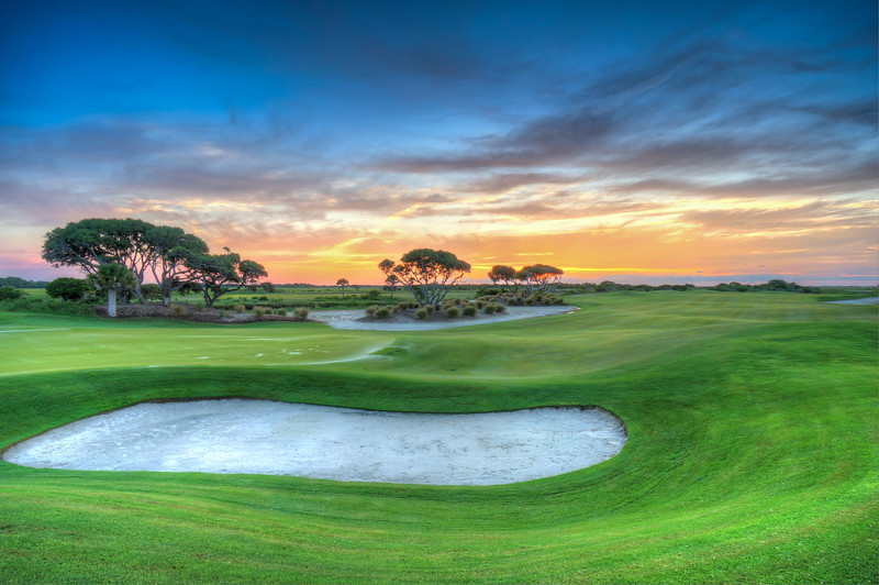 Dawn at the Ocean Course, Kiawah Island