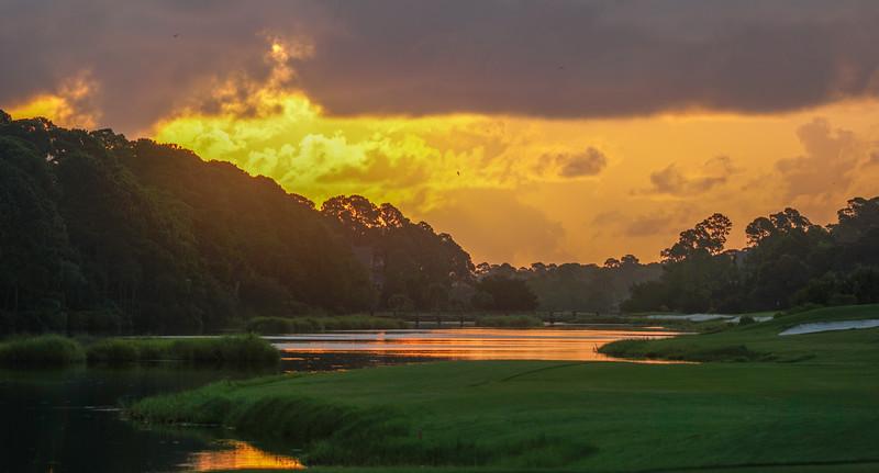 Pintail Pond at Sunrise