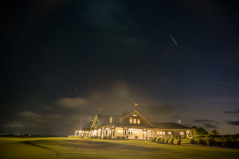 Ocean Course Clubhouse Starry Night