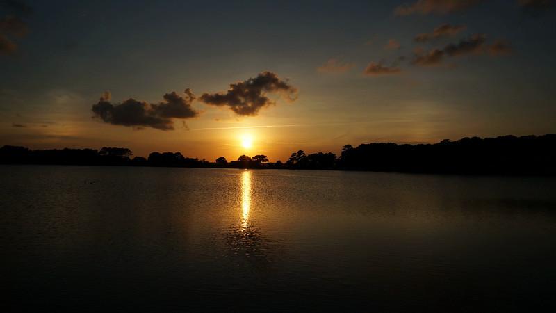 Sunset Bass Pond