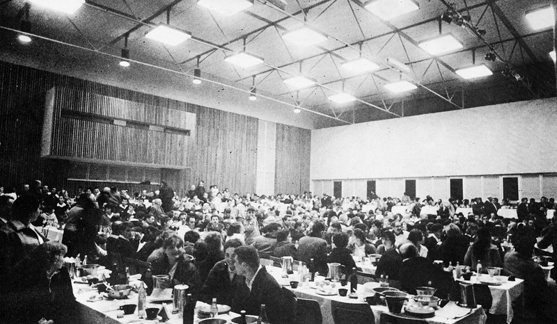 Spring Harvest Festival in the Kibbutz Dinning Hall