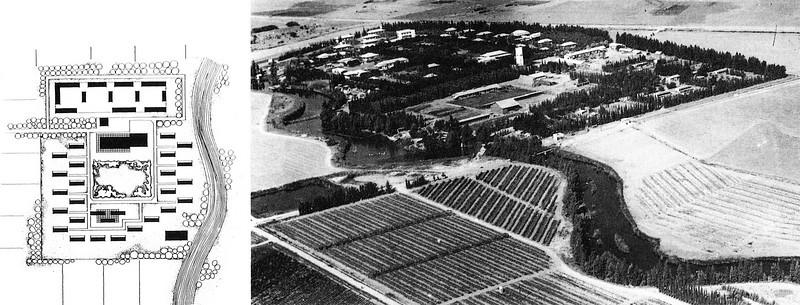 Kibbutz Layout