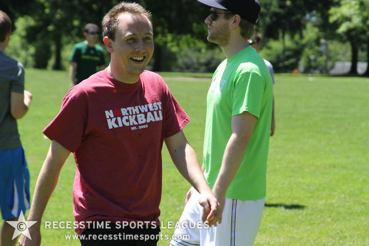Kickball - Recesstime Portland