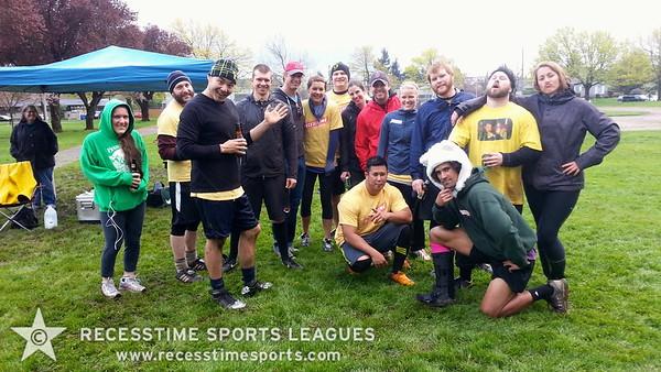 Recesstime Portland Kickball - Spring 2013