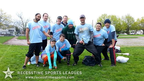 Recesstime Portland Kickball - In Da Face