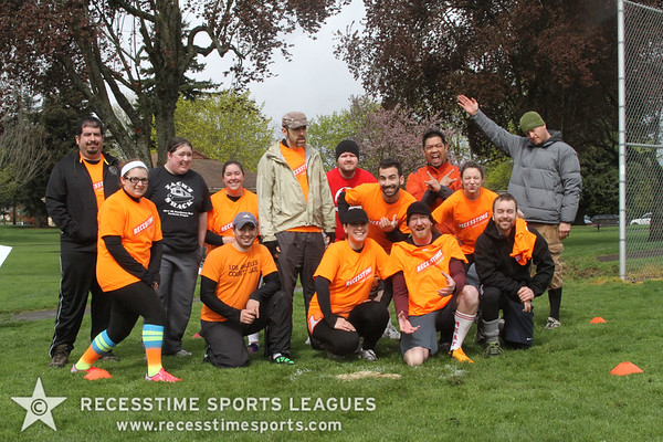 Mr. Fluff R. Nutter's Home for Wayward Racoons - Recesstime Portland Kickball