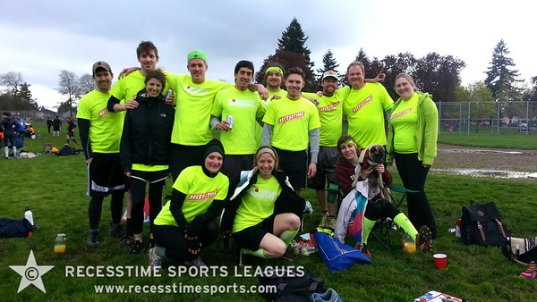 Recesstime Portland Kickball - PBR Tsunami