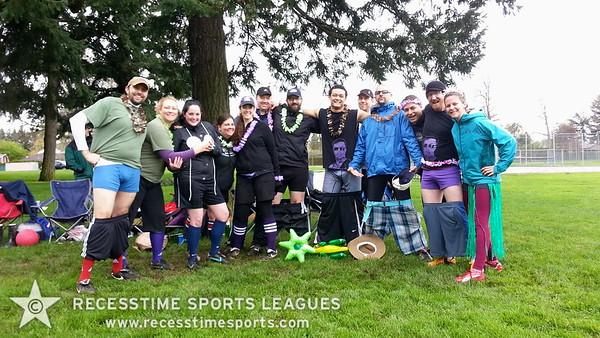 Ronn's Team Recesstime Kickball Portland