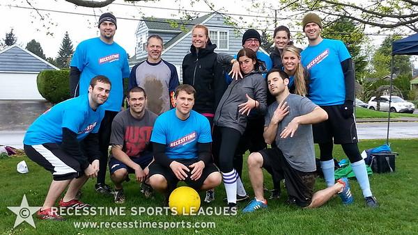 Recesstime Portland Kickball - 99 Problems but a Pitch Ain't One