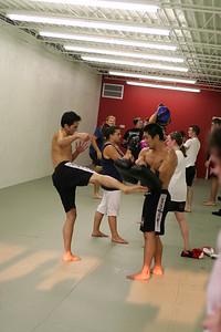 Kickboxing Class.
