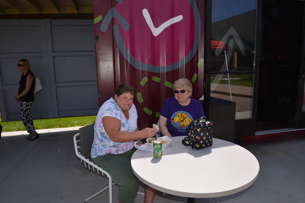 . Linda Kerkau - Morning Sun -   CMURC\'s Food Truck Friday 2018 opening day