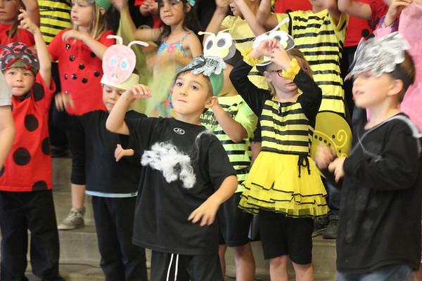 Talia TVES Kindergarten Bug Show