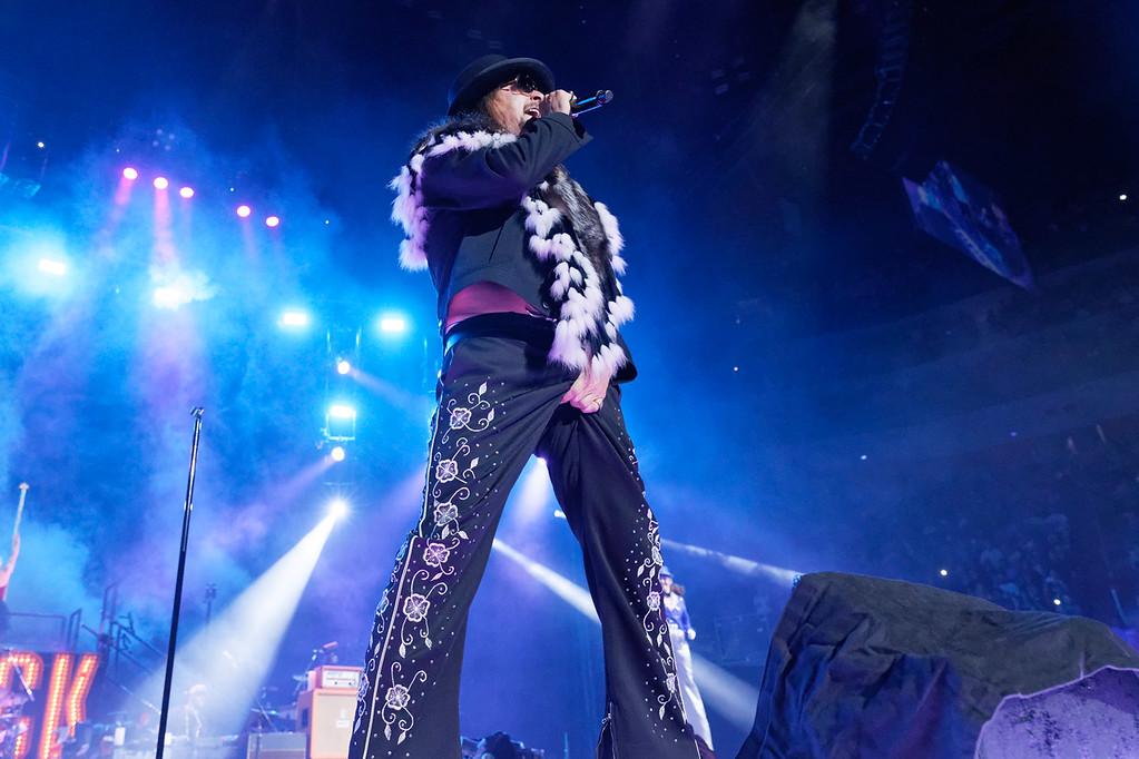 . Kid Rock live at Little Caesars Arena on 9-20-2017.  Photo credit: Ken Settle