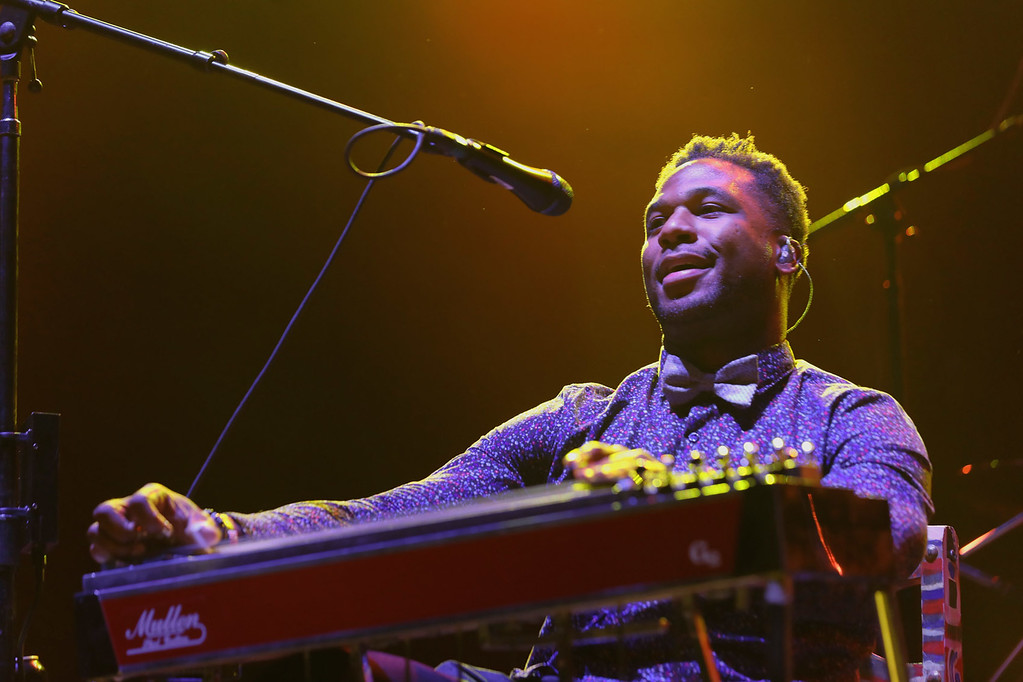 . Robert Randolph  live at Little Caesars Arena on 9-12-2017.  Photo credit: Ken Settle
