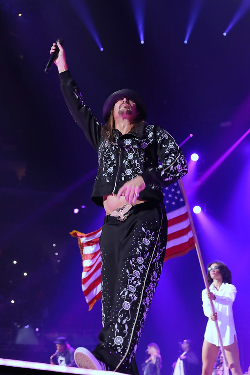 . Kid Rock live at Little Caesars Arena on 9-12-2017.  Photo credit: Ken Settle