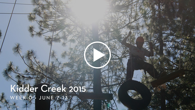 Kidder Creek 2015 Week 0 Highlights