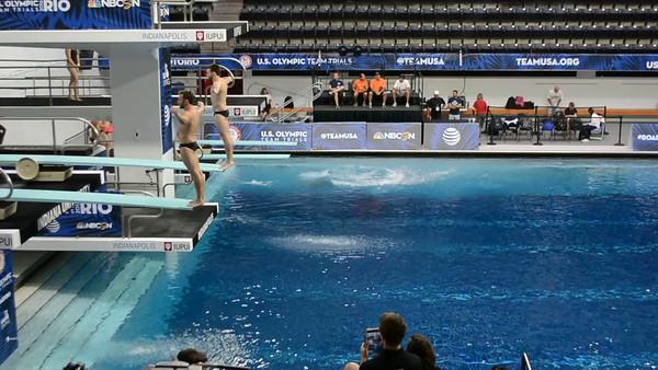 2016 Olympic Trials - Synchro - GO JOBROS