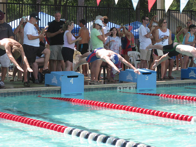 Connor takes off...in lane 4