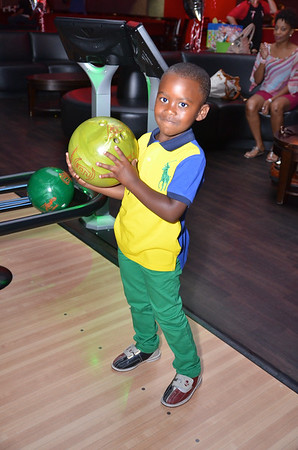Landin's 5th Birthday Bowling Party
