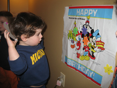Jacob's 3rd Birthday