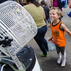 Cody Giannoni, 5, cools off during Kid's Day in downtown Leominster on Saturday afternoon. SENTINEL & ENTERPRISE / Ashley Green