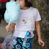 Luana Acosta, 6, enjoys some cotton candy during Kid's Day in downtown Leominster on Saturday afternoon. SENTINEL & ENTERPRISE / Ashley Green