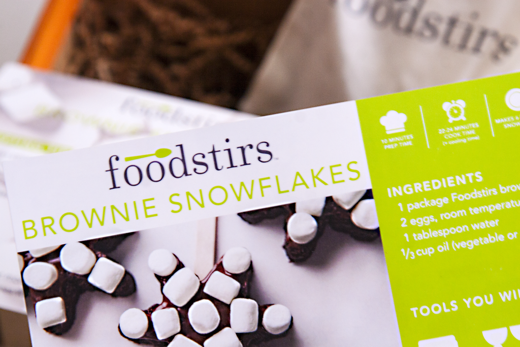 Foodstirs' Brownie Snowflakes Kit