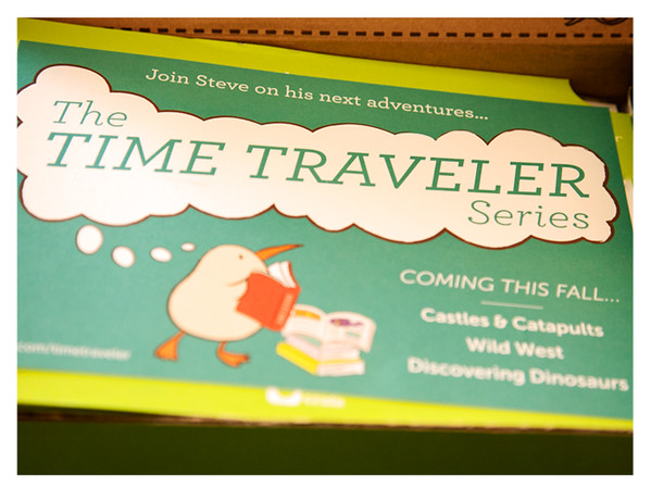 Fall 2014 Kiwi Crate: The Time Traveler Series