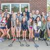 Collegiate Girls Lacrosse Team.
