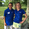 Leo Rivera of Burlington and Susan Zwick of Arlington
