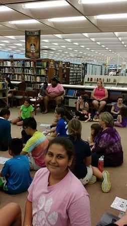 Kids Library Bingo 2016