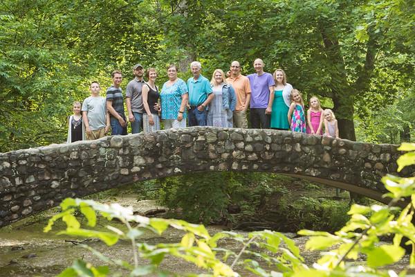 Ionia, MI family photography Bertha Brock Park