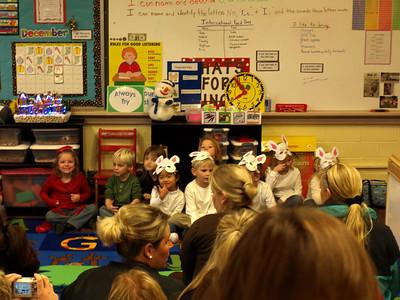Talen's Kindergarten Christmas Program
