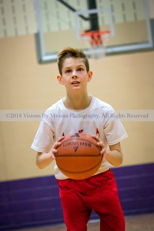 YMCA Kids Semi-Finals Basketball Game 3-18-17