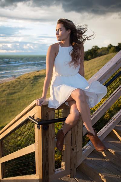 Holland, MI senior girl photography