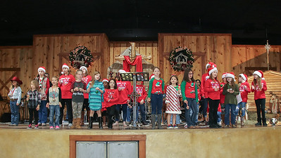 Kids Singing Christmas 2018