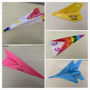 Safwaan's Colourful Jets!