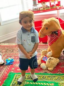 2 Year-Old Zaafir is ready for Prayer!