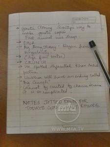 Muhammad Reihan's God Summit Special Notes!