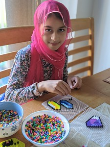 Ghazia's Crafts at home!