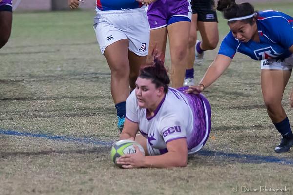 GCU v UA v ASU Womens Rugby Tourn 10.21.17